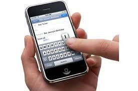 smartphone layar sentuh